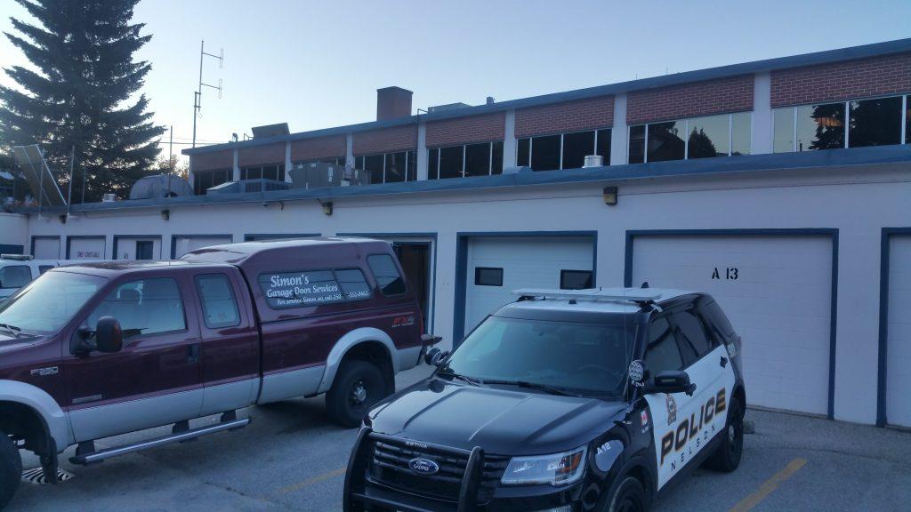 Garage Doors for a Police Station