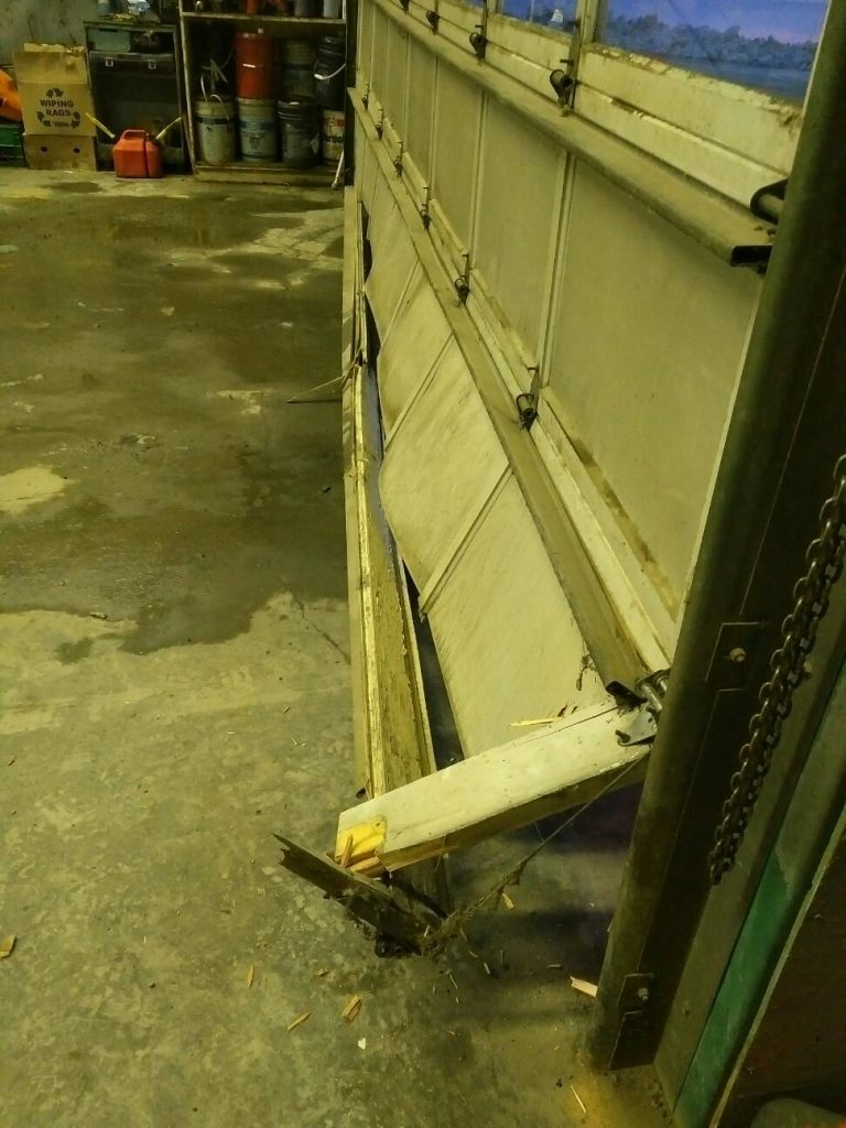 Commercial Door Repair - Side View