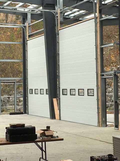 Large Steel Commercial Doors for new Construction